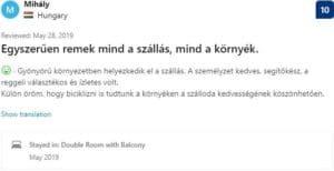 Villa Aina Testimonials Mihaly from Hungary
