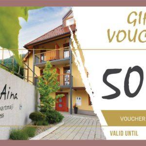 GIFT VOUCHER 500€