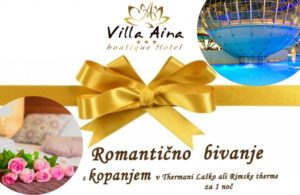 ROMANTIC BATHING HOLIDAY - GIFT VOUCHER FOR 1 NIGHT
