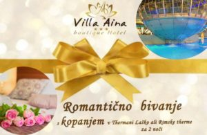 ROMANTIC BATHING HOLIDAY - GIFT VOUCHER FOR 2 NIGHTS