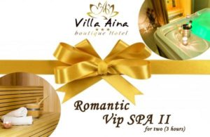 VIP SPA II - GIFT VOUCHER FOR 3 HOURS